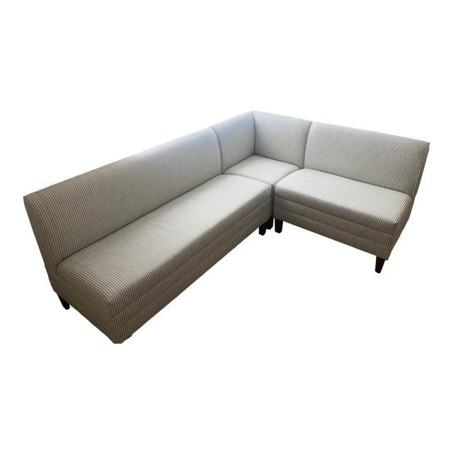 Custom 3-Piece Ballard Designs Bench For Sale