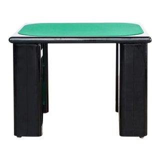 Game Table Designed by Pierluigi Molinari for Pozzi Milano For Sale