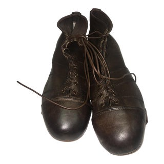 English Leather Soccer Cleats - A Pair For Sale