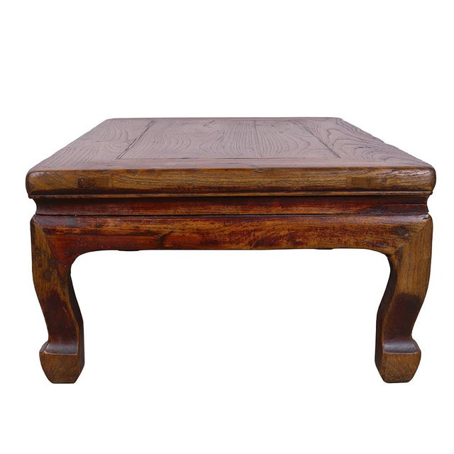 Antique Chinese Carved Kang Table - Image 9 of 11