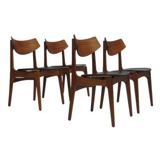 4 Funder-Schmidt & Madsen Danish Teak Dining Chairs