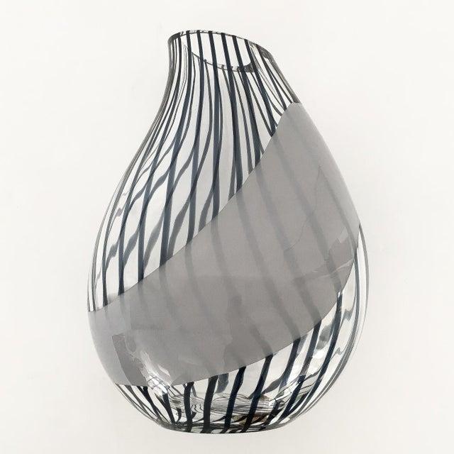 "Designer: Livio Seguso Italy - Circa 1980s Dimensions: 13"" H x 9"" W x 6"" D Condition: Excellent vintage condition. Livio..."