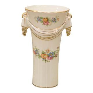 Vintage Porcelain Floral Vase