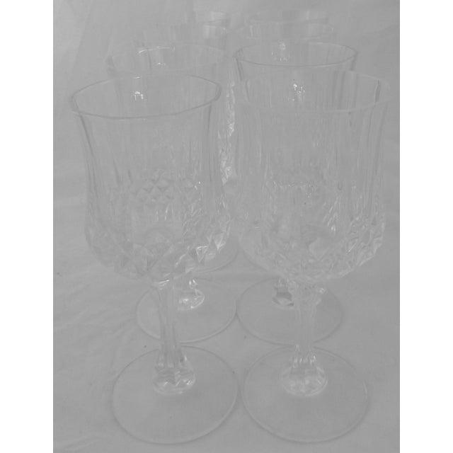 Vintage French Crystal Wine Glasses - Set of 8 - Image 6 of 6