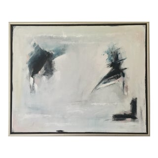 "Framed Abstract ""Jazz Hands"" by Ally Sheppard For Sale"