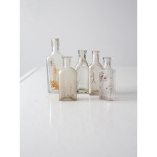 Antique Apothecary Bottles - Set of 5 Preview