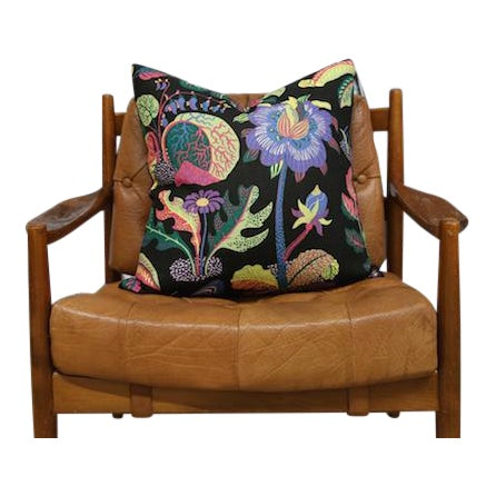 Josef Frank Exotic Butterfly Pillow Cushion, Floral - Image 4 of 4