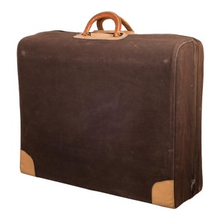 "Vintage ""The Colonel"" Leather Luggage C.1950-1960 For Sale"