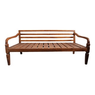 Simple Teak Daybed