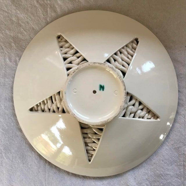 Clay 1925 Vintage Hand Built Sainte Radegonde Pottery Bowl For Sale - Image 7 of 12