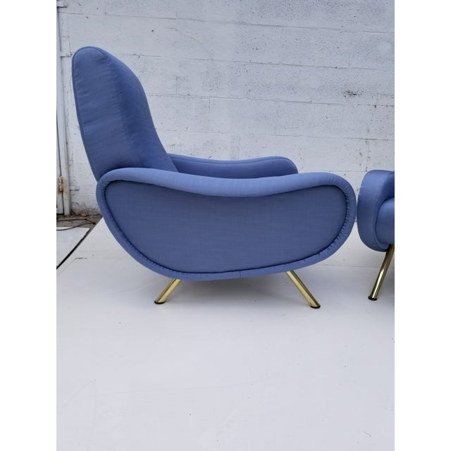 Marco Zanuso Marco Zanuso Lady Chair- A Pair For Sale - Image 4 of 10