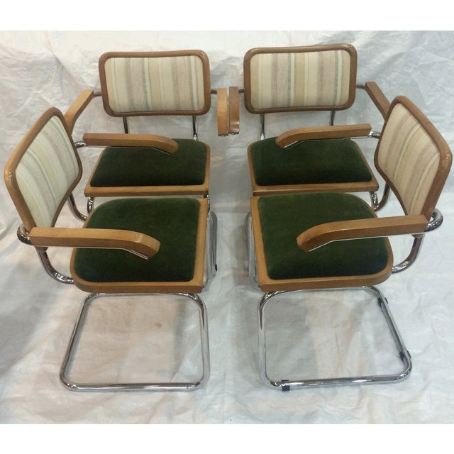 Marcel Breuer Cesca Chairs by Knoll - Set of 4 - Image 4 of 6