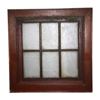 Cooper Union University Wooden Frame Window For Sale