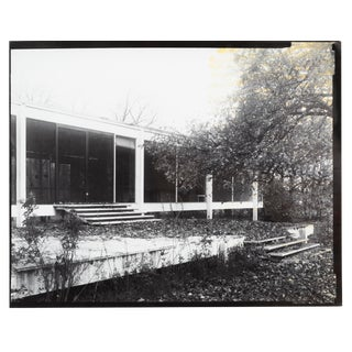 """Farnsworth House Early Decline #1"" Photograph by Jim Zanzi For Sale"
