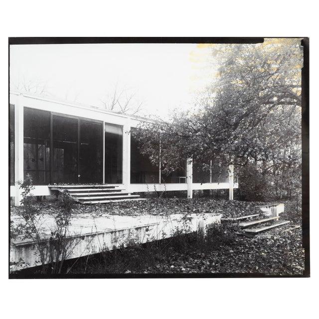 """Farnsworth House Early Decline #1"" Photograph by Jim Zanzi For Sale"