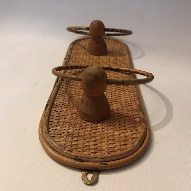 Bamboo Towel Ring For Sale - Image 4 of 11