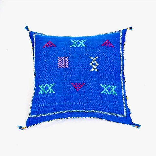 Cobalt Blue Sabra Throw Pillow Chairish