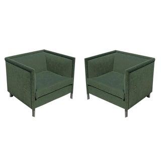 Knoll Studio Gary Lee Lounge Armchairs - A Pair
