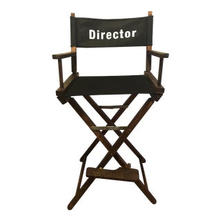 Vintage 60s Wooden Director Movie Chair