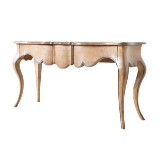 Italian Style Wooden Console For Sale