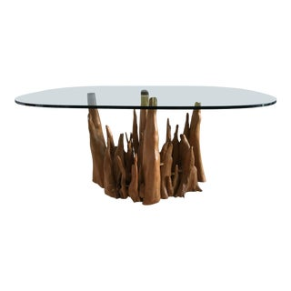 Cypress Root Dining Table For Sale