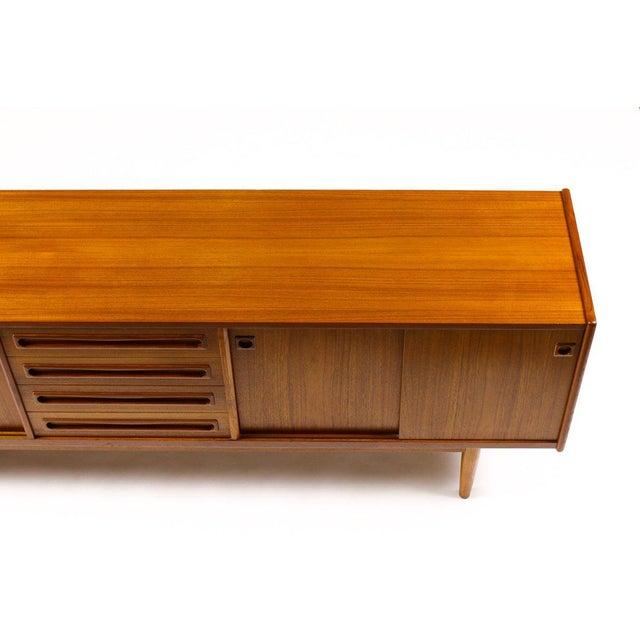 1960s Scandinavian Jens Ærthøj Teak Credenza/Sideboard For Sale - Image 10 of 11