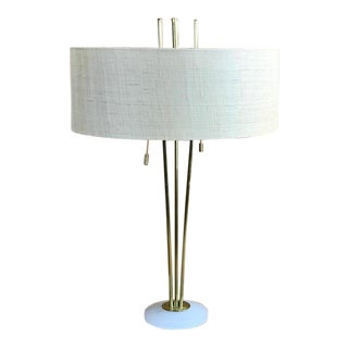 Brass Tripod Lamp in the Style of Robsjohn-Gibbons For Sale