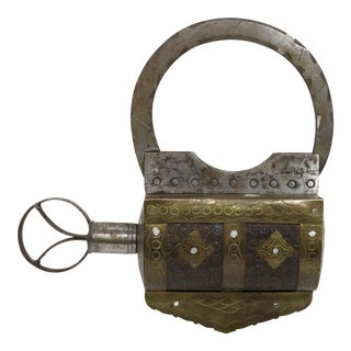 Antique Giant Size Padlock For Sale