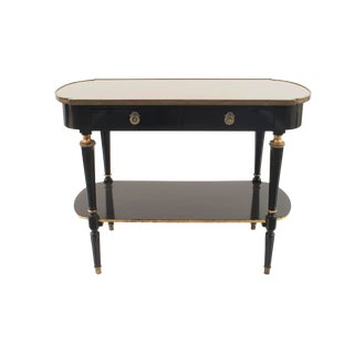 "French 1940s ""Louis XVI Style"" Two-Tier Console Table For Sale"