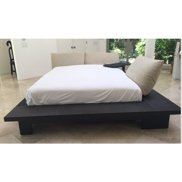 Peter Maly Queen Size Bed Chairish - Maly-platform-bed-by-ligne-roset