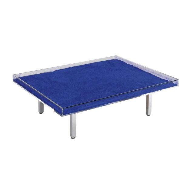 Yves Klein Table Bleue Blue For Sale
