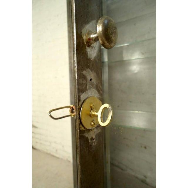 Industrial Metal Display Cabinet - Image 8 of 9