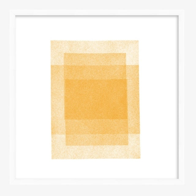 In these minimal, soft geometric images, I'm exploring hard/soft edges and shapes, and the complexities of layers and...