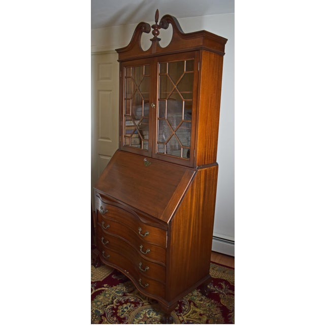 Antique Maddox Mahogany Secretary Desk - Image 4 of 11
