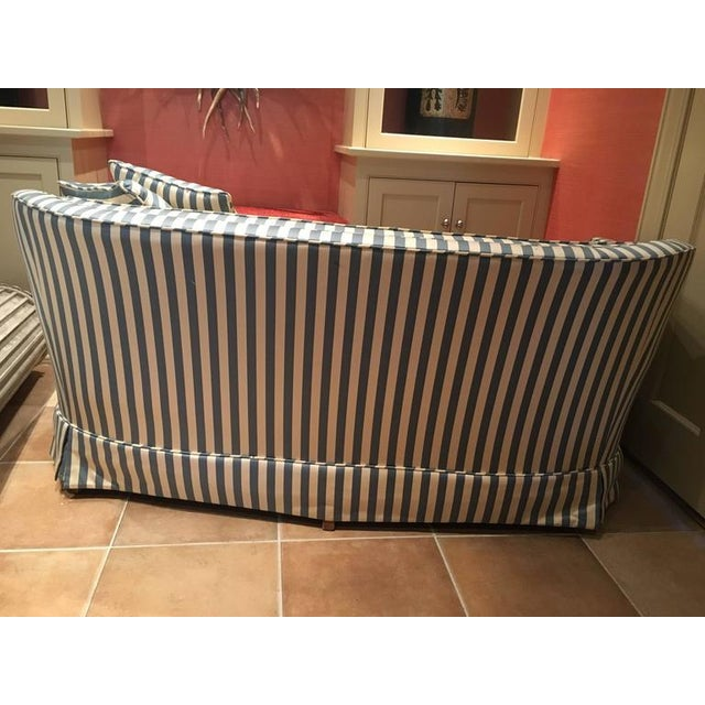 Curved Tufted Back Loveseats - A Pair - Image 3 of 4