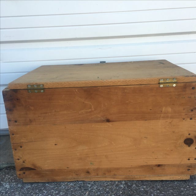 Wood Storage Box from U.S. Department of Commerce - Image 5 of 10