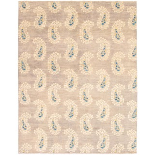 Pakistani Hand-Knotted Rug-8′1″ × 10′4″ For Sale