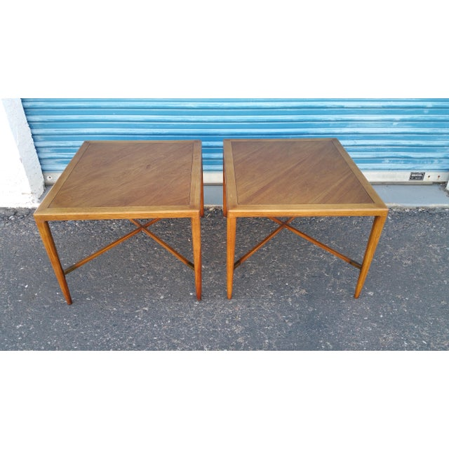 Tomlinson Mid-Century Side Tables - A Pair - Image 8 of 8