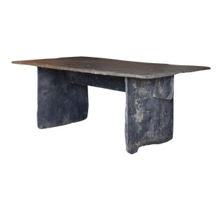 Long Slate Center Table For Sale