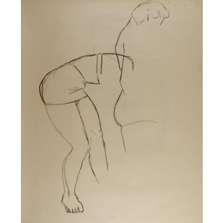 Line Drawing Figure Study For Sale