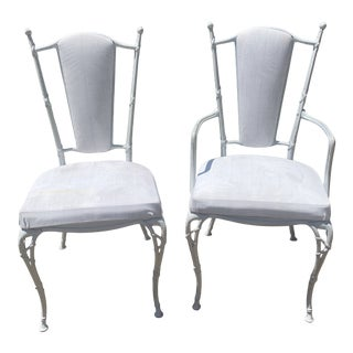 1950s Neoclassical Molla Outdoor Chairs - a Pair For Sale