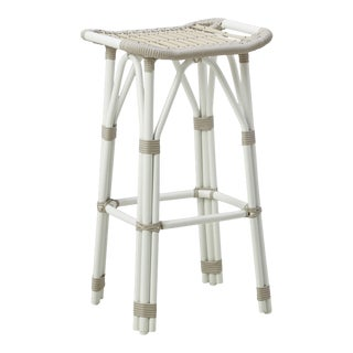 Salsa Exterior Bar Stool - Dove White For Sale