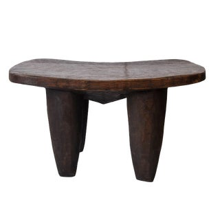 22-Inch Vintage African Senufo Stool For Sale