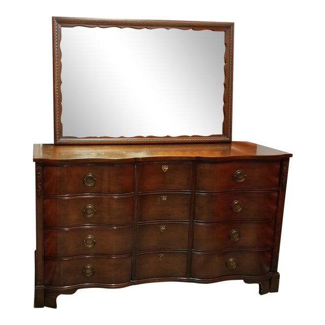 """Kent Coffey """"The Darlington"""" Dresser and Mirror For Sale"""