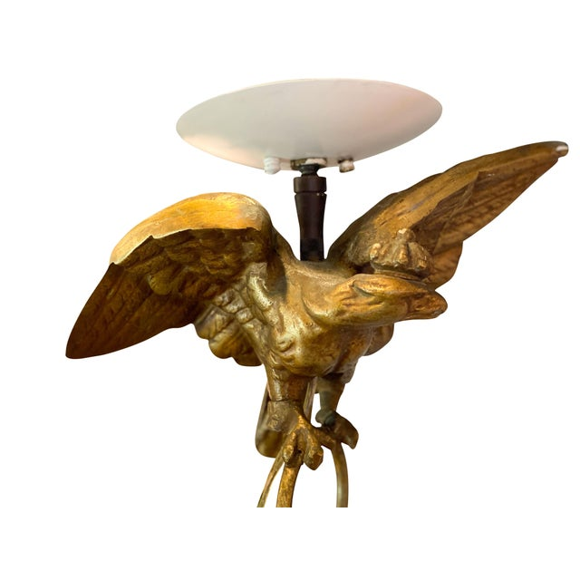 Mid 19th Century Louis Philippe Brass Bell Form Hall Lantern For Sale - Image 5 of 8