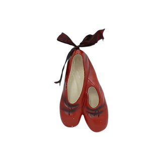 1940s English Ceramic Ballet Shoes For Sale