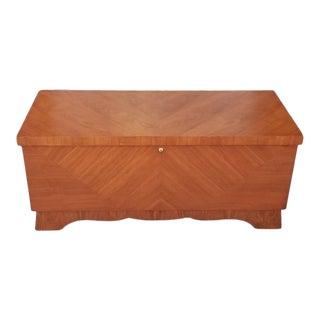 Lane Mid-Century Style Cedar Trunk For Sale