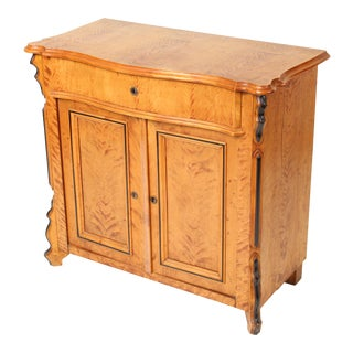 Antique Biedermeier Style Occasional Cabinet For Sale
