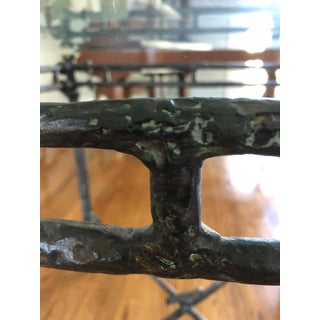 1960s Italian Cast Aluminum Dining Table Preview