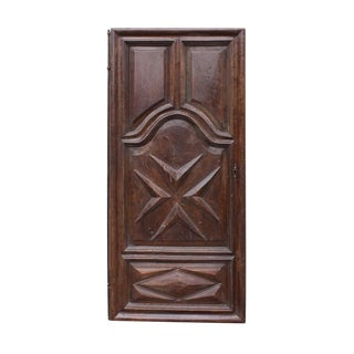 18th Century Antique Walnut Door